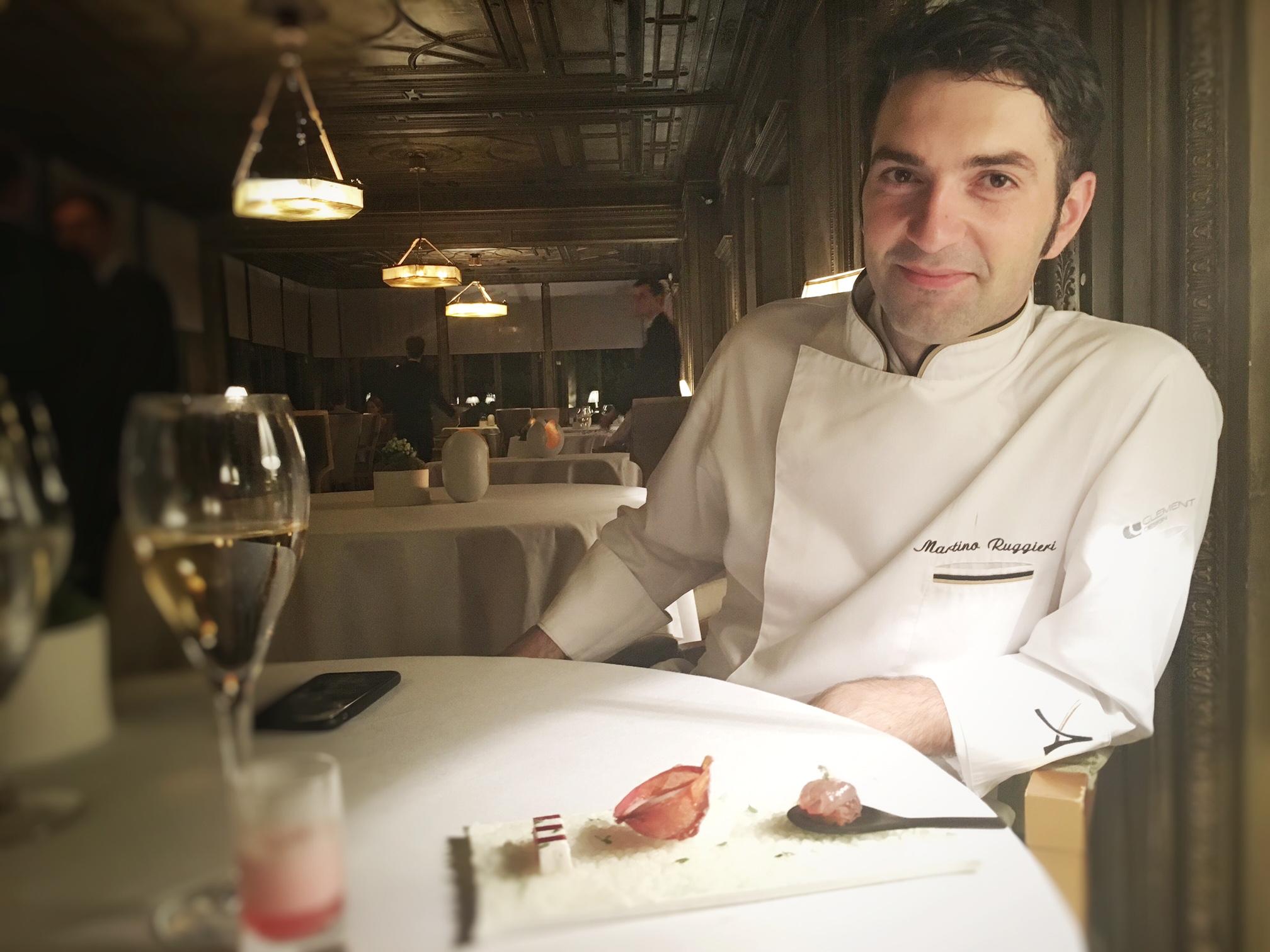 Martino ruggieri racconta la rivoluzione in cucina di yannick all no monica caradonna - La cucina di monica ...